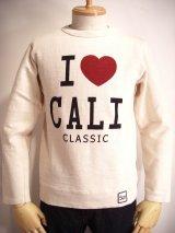 《SALE》特別プライス☆【u.m.i】I LOVE CALI8層スラブ天竺カットソー