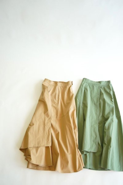 画像1: 【MOOLA KALAH(モーラ カーラ)】ウォッシュドマキシスカート