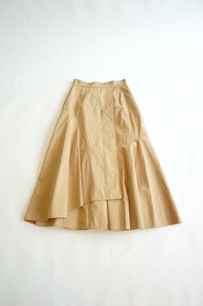 画像2: 【MOOLA KALAH(モーラ カーラ)】ウォッシュドマキシスカート